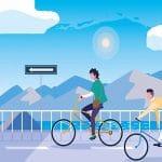 ile de france paris piste cyclable pour trottinette
